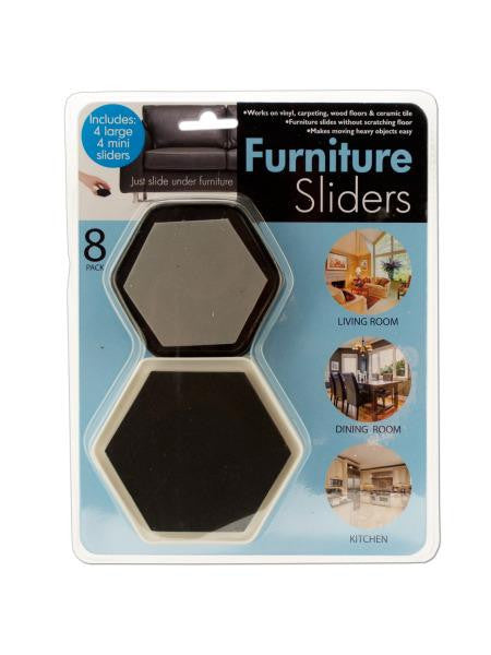 Furniture Sliders with Foam Padding (Available in a pack of 8)