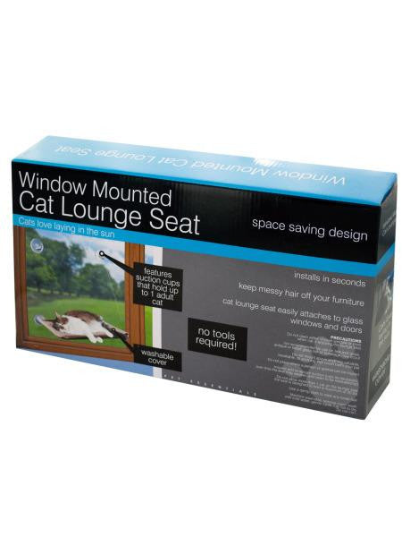 Window Mounted Cat Lounge Seat (Available in a pack of 1)