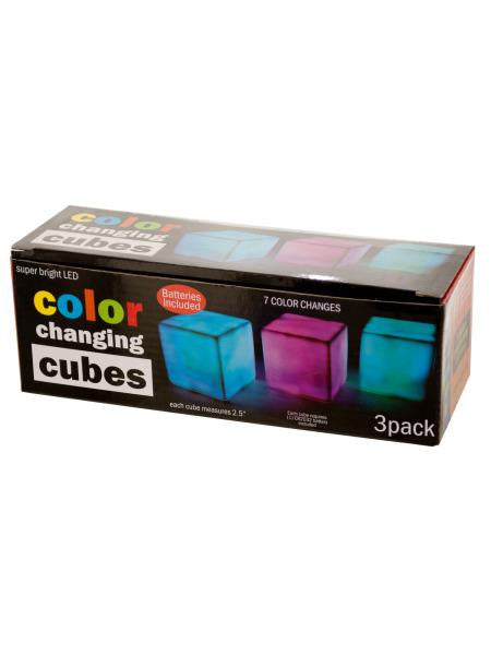 Color Changing Light Cubes Set (Available in a pack of 4)