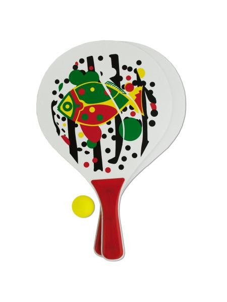 Paddle Ball Game Set (Available in a pack of 4)
