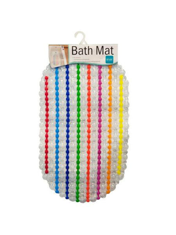 Colorful Bath Mat (Available in a pack of 4)