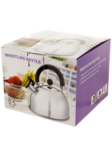 Whistling Stainless Steel Tea Kettle (Available in a pack of 1)