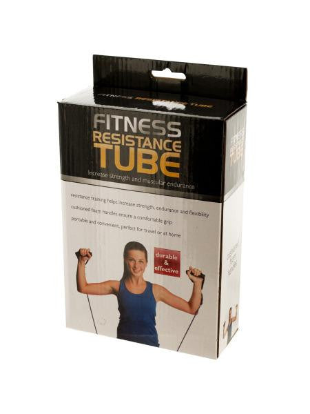 Fitness Resistance Tube (Available in a pack of 1)