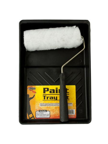 Paint Roller & Tray Kit (Available in a pack of 4)