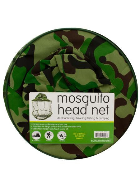 Mosquito Head Net Hat (Available in a pack of 5)