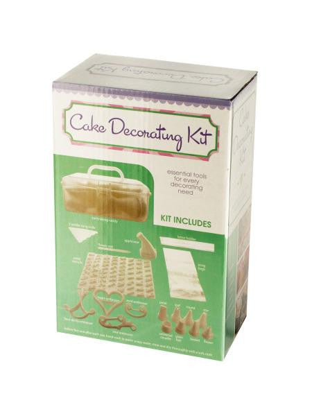Cake Decorating Kit with Caddy (Available in a pack of 2)