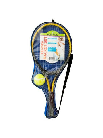 Kids Tennis Racket Set with Ball (Available in a pack of 1)