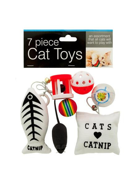 Cat Toys Set (Available in a pack of 4)
