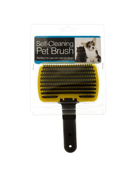 Self-Cleaning Pet Brush (Available in a pack of 4)