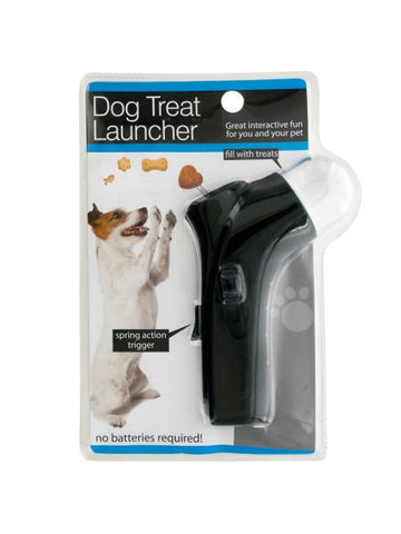 Dog Treat Launcher with Spring Action Trigger (Available in a pack of 2)