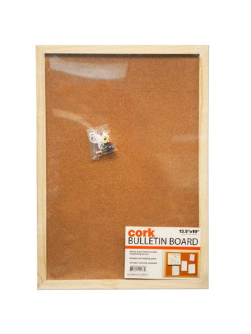 Cork Bulletin Board (Available in a pack of 4)