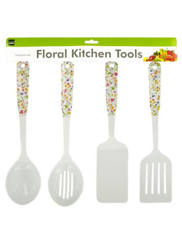 Floral Kitchen Tools (Available in a pack of 4)