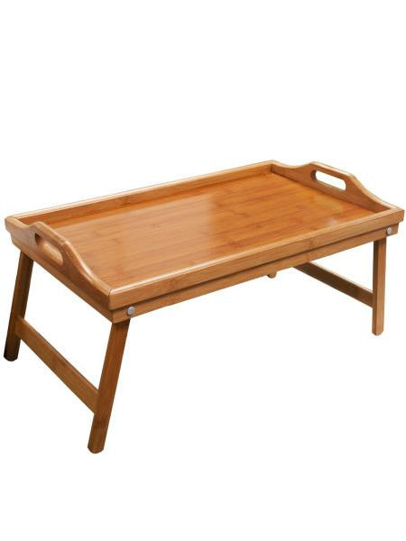 Bamboo Bed Tray with Folding Legs (Available in a pack of 1)