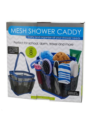 Mesh Shower Caddy with 8 Side Pockets (Available in a pack of 1)