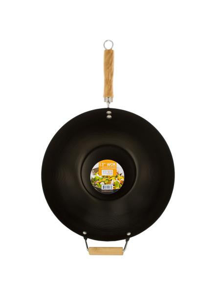Wok with Easy to Clean Coated Surface (Available in a pack of 1)
