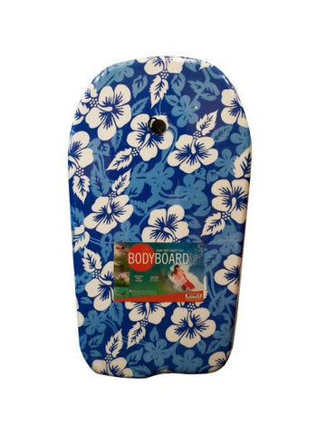 Blue Patterns Bodyboard with Leash (Available in a pack of 1)