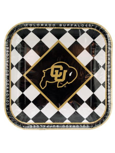Colorado Buffaloes Lunch Plates Set (Available in a pack of 24)