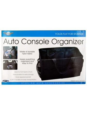 Auto Console Organizer with Multiple Pockets (Available in a pack of 4)