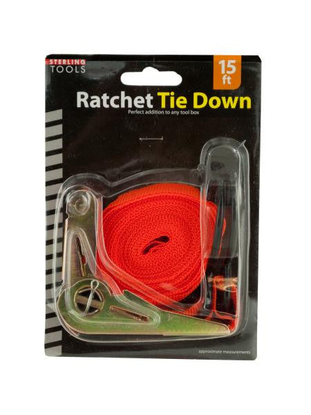 Ratchet Tie Down (Available in a pack of 12)