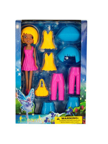 Fairy Fashion Doll with Clip-On Clothing & Accessories (Available in a pack of 1)