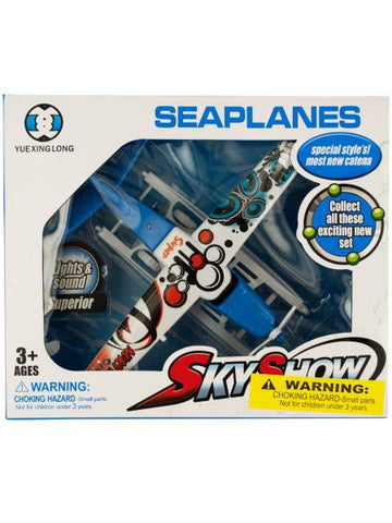 Toy Seaplane with Light & Sound (Available in a pack of 2)