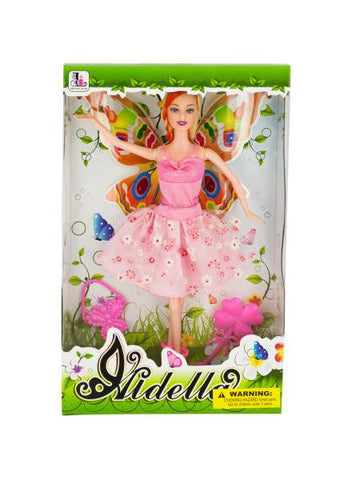 Ballet Dancer Fashion Doll with Butterfly Wings (Available in a pack of 1)