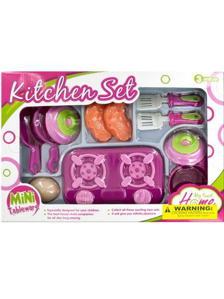 Mini Kitchen Stove Play Set (Available in a pack of 4)