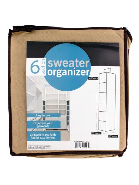 Hanging Sweater Organizer (Available in a pack of 1)