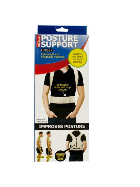 Magnetic Unisex Posture Support Brace (Available in a pack of 18)