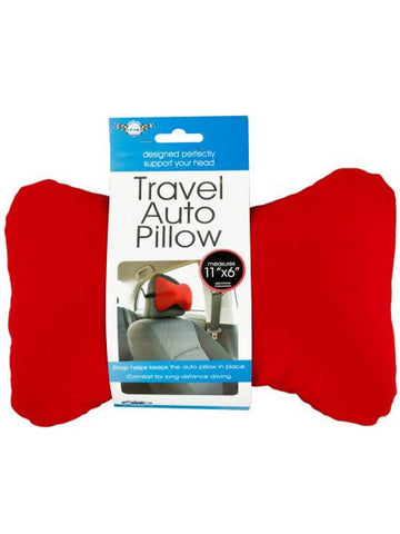 Travel Auto Pillow with Strap (Available in a pack of 8)