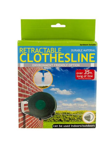 Indoor Outdoor Retractable Clothesline (Available in a pack of 1)