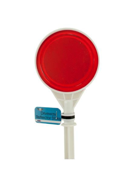 Driveway Reflector Stake (Available in a pack of 12)