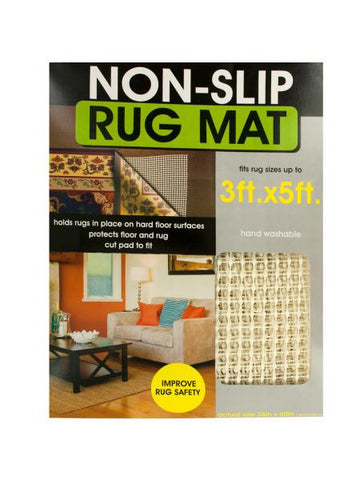 Protective Non-Slip Rug Mat (Available in a pack of 4)