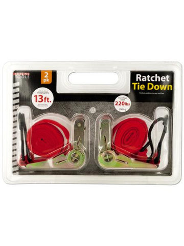 Ratchet Tie Down Set (Available in a pack of 4)