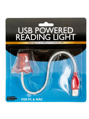 Lamp Shaped USB Powered Flex Reading Light (Available in a pack of 8)