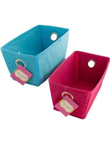 Cloth Covered Home Storage Box (Available in a pack of 6)