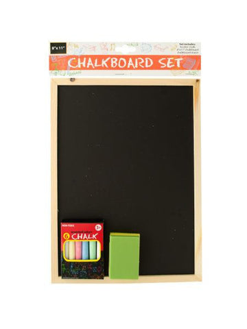 Wooden Chalkboard Set (Available in a pack of 6)