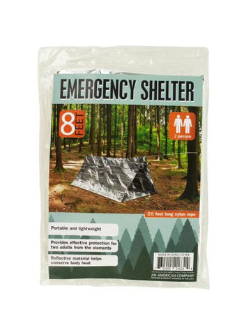 2 Person Emergency Shelter (Available in a pack of 4)