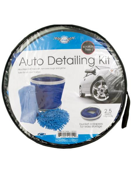 Car Wash Kit with Collapsible Bucket (Available in a pack of 1)