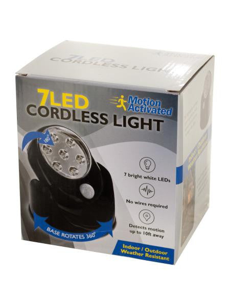 7 LED Rotatable Cordless Light (Available in a pack of 1)