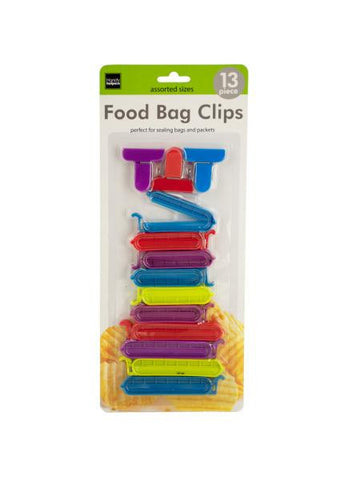 Food Bag Clips (Available in a pack of 12)