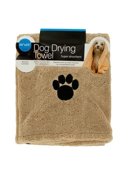 Medium Super Absorbent Dog Drying Towel (Available in a pack of 4)