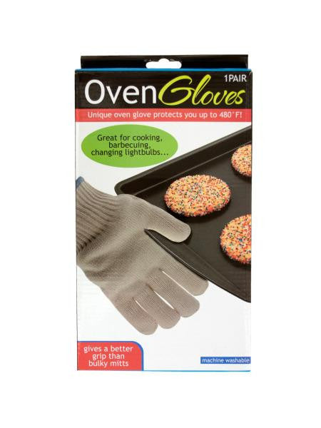 Heat Resistant Oven Gloves (Available in a pack of 5)