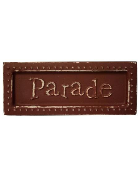 Parade Mini Metal Sign Magnet (Available in a pack of 18)