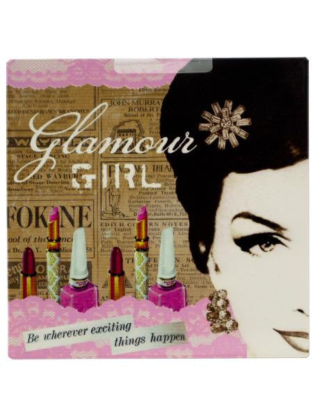 Glamour Girl Wall Art (Available in a pack of 12)
