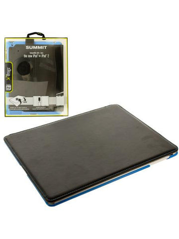 Black & Blue ifrogz iPad Snap-In Folio Case (Available in a pack of 4)