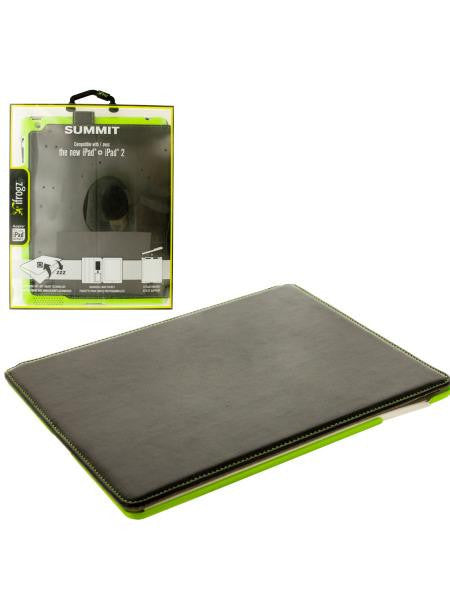 Black & Green ifrogz iPad Snap-In Folio Case (Available in a pack of 4)