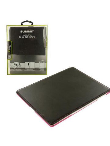 Black & Pink ifrogz iPad Snap-In Folio Case (Available in a pack of 4)