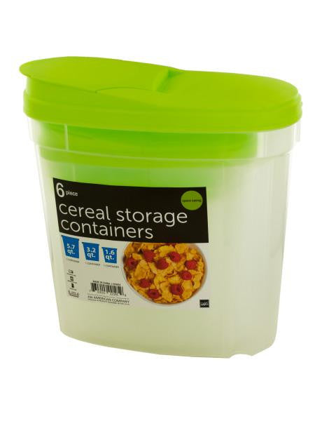 Nesting Cereal Storage Containers (Available in a pack of 1)