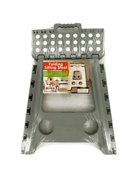 Folding Sitting Stool with Carrying Handle (Available in a pack of 1)